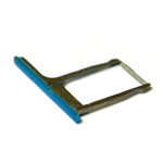 Genuine HTC One M8 Sim Card Tray in Blue (Grade A)