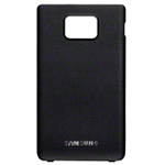 Genuine Samsung GT-I9100 Galaxy S2 Battery Cover in Black- Samsung part no: GH98-19595A (Grade A)