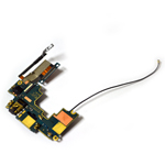 Genuine HTC One (M7) Audio Flex-Cable with Earphone Jack and Antenna- HTC part no: 51H10209-09M (Grade A)