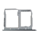 Genuine LG H850 G5 Sim / SD Card Tray in Silver- LG part no: ABN74959011 (Grade A)
