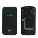 Genuine LG E960 Nexus 4 Back Cover in Black- LG part no: ACQ86231209 (Grade A)