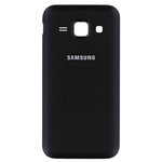 Genuine Samsung SM-J100H Galalxy J1 Duos Battery Cover in Black- Samsung part no: GH98-36089C (Grade A)