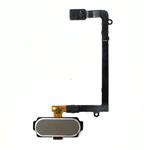 Genuine Samsung SM-G925F Galaxy S6 Edge Complete Home Button Flex/Cable in Gold- Samsung part no: GH96-08253C (Grade A)
