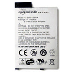 Genuine Amazon Kindle 3 Battery Replacement (1900mAh, 3.7V, Lithium Polymer) S11GTSF01A (Grade A)