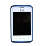 Genuine LG L20 Mid Full Screen Assembly White/Blue (Grade C)