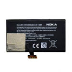 Genuine Nokia Lumia 1020 Battery Li-Ion BV-5XW 2000mAh-Nokia part no: 00810H3 (Grade A)