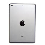 Genuine Apple iPad Mini 3 Rear Cover Housing in Silver A1599 (Grade A)