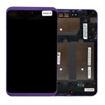 Genuine Tesco Hudl 2 Complete Lcd with Digitiser Assembly in Lilac (Grade B)