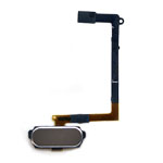 Genuine Samsung SM-G920F Galaxy S6 Home Button Flex-Cable Complete in Gold- Samsung part no:GH96-08166C (Grade A)