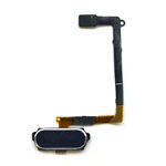 Genuine Samsung SM-G920F Galaxy S6 Home Button Flex-Cable Complete in Black- Samsung part no:GH96-08166B (Grade A)