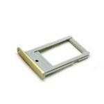 Genuine Samsung SM-G925F Galaxy S6 Edge Sim Card Tray in Gold-Samsung part no: GH98-35872C (Grade A)