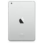 Genuine Apple iPad Mini 1 Rear Housing in Silver-Model A1455 (Grade A)