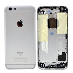 Genuine Apple iPhone 6s Rear Housing in Silver (Grade C)
