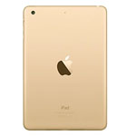 Genuine Apple iPad Mini 3 Rear Cover Housing in Gold A1599 (Grade A)