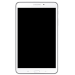 Genuine Samsung Galaxy Tab 4 8.0 SM-T330 Complete LCD with Frame and Home Button in White (Grade A)