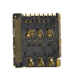 Genuine Sony  Xperia M4 Aqua (E2303) SIM Socket- Sony part no: F63012015007