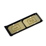 Genuine Sony E6533 Xperia Z3+ Dual  Sim Card Tray / SD- Sony part no: 1289-5345