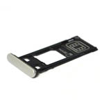 Genuine Sony (F5121) Xperia X SIM Tray Cap (Single SIM) in White-Sony part no: 1302-4831