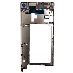 Genuine Sony Xperia XA Ultra (F3215), Xperia XA Ultra Dual (F3216) Middle Cover with Camera Lens - Sony part no: A/330-0000-00336