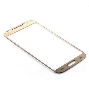 Samsung i9500/i9505 Metallic brushed Gold Lens with adhesive
