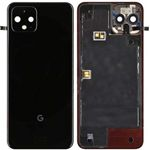 Genuine Google Pixel 4 Just Black Rear / Battery Cover - Part no: 20GF2BW0002
