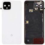 Geniune Google Pixel 4 XL Battery Cover In Clearly White - Part no: 20GC2WW0002