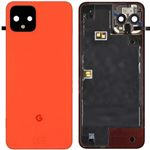Genuine Google Pixel 4 Oh So Orange Rear  Battery Cover - Part no: 20GF20W0010