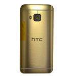 Genuine HTC One (M9) Battery Cover in Gold-HTC part no: 83H40031-17