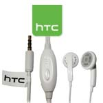 Genuine HTC Remote Handsfree Headset (White) - 36H00824-06M for New HTC Models