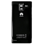Genuine Huawei U9200 Ascend P1 Battery Cover (Black)