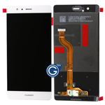 HuaWei P9 Complete LCD and Digitizer Assembly in White