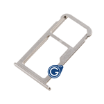 HuaWei P9 Sim Card Holder Tray in Silver