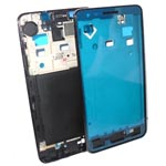 Samsung i9100 Galaxy S2 Chrome frame Black