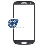 Samsung I9300 Galaxy S III Lens Glass with adhesive - Titanium Grey