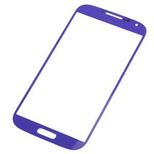 Samsung i9500/i9505 Lens with adhesive in metallic purple