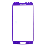 Samsung i9500/i9505 Galaxy S4 Glass Lens with Adhesive in Purple