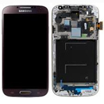 Genuine Samsung i9505 Galaxy S4 LTE Complete lcd and touchpad with frame in Brown - part no: GH97-14655E