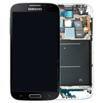 Samsung i9515 Galaxy S4 Value Edition 4G Complete lcd and digitizer with frame in Silver/Black - Samsung Part number: GH97-15707N