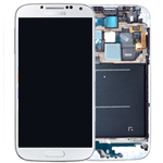 Samsung i9515 Galaxy S4 Value Edition Complete lcd and digitizer with frame in White - Samsung part number: GH97-15707A
