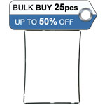 Bulk 25pcs iPad 3, iPad 4 Mid frame black - only 0.70p each