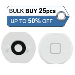 Bulk 25pcs iPad Air home button white