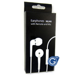 iPhone, ipod, ipad High quality In-ear handsfree with Volume control in retail packaging