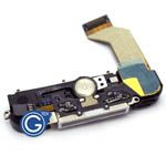 iPhone 4S system connector complete in white inc.loudspeaker.microphone and home flex-Replacement part (Compatible)