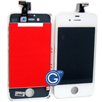 iPhone 4S LCD and digitizer complete in white-Replacement part (compatible)