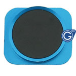 iPhone 5 Black home button with Blue chrome ring