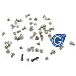 iPhone 5 Complete Screw Set with 2Pcs Black Bottom Screw-Replacement part (Compatible)