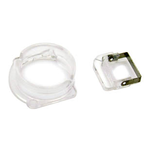 iPhone 5 Front Camera Plastic Cap Seal Bracket Ring-Replacement part (Compatible)