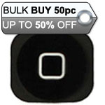 50pcs iPhone 5 Home Button Black