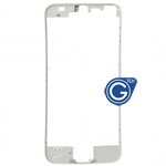 iPhone 5 Plastic front frame in White (High Quality)