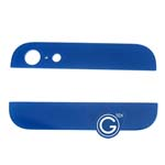 iPhone 5 Top and Bottom bezel part set of Back cover in Dark Blue